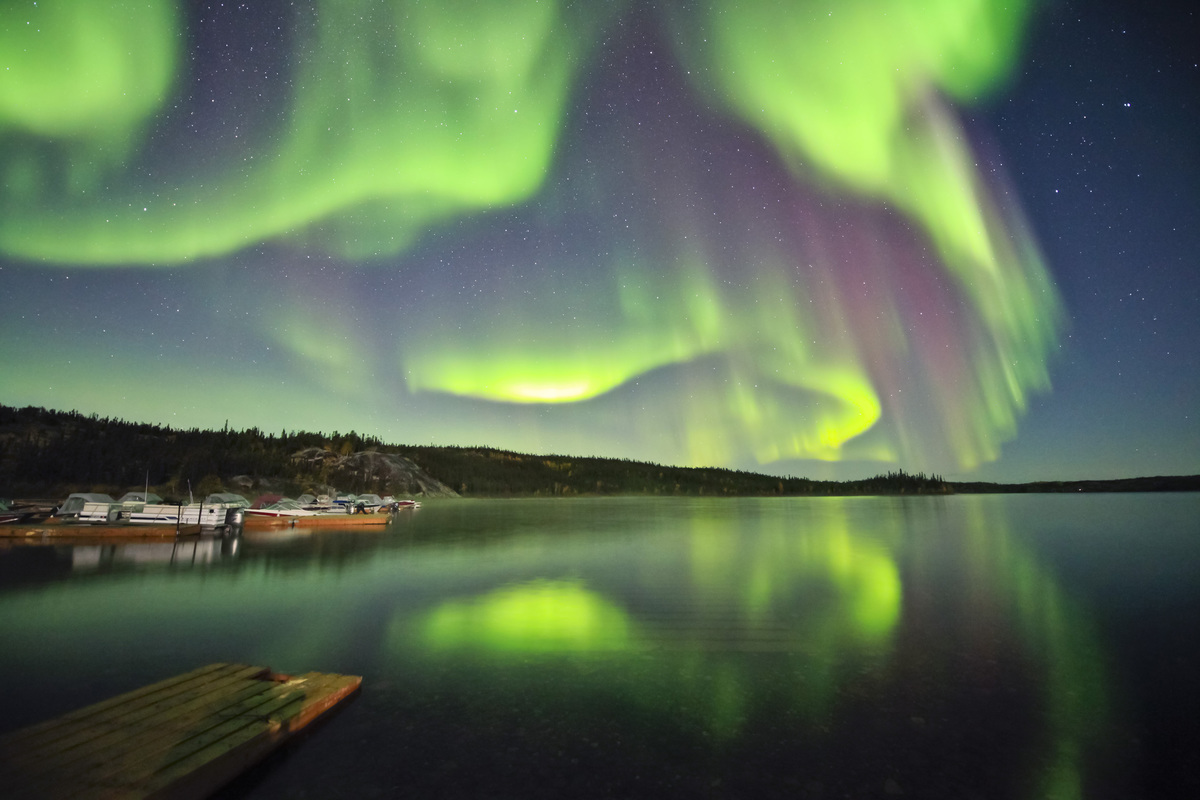Aurora Great Slave Lake